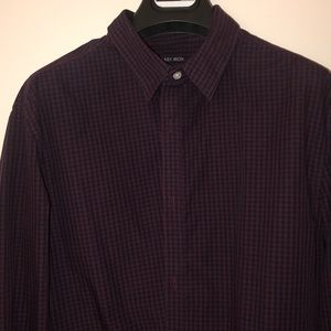 H&M easy iron checked Shirt